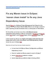 How to fix eclipse maven errors.pdf