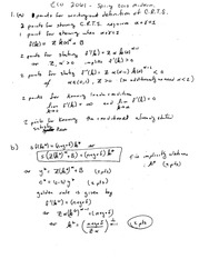 ECO 2061H1 S Midterm 2 2008 SOLUTIONS