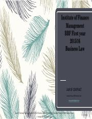 Law of Contract (IFM).pdf