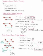 Lecture 05_Common crystal structures