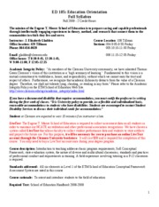 Gladden_ED_105_Syllabus_Fall_2009