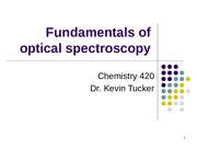 Unit 4 - Components of Spectroscopy