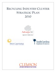 FINAL RECYCLING CLUSTER STRATEGIC PLAN w new logo