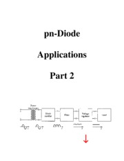6 pn Diode Applications - Part 2