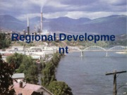 regional development and SD