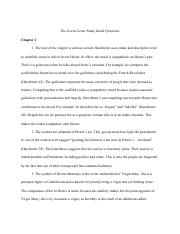 17 pages the scarlet letter study guide questionspdf