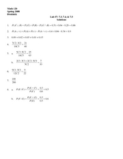 Finite Lab 7 Solutions