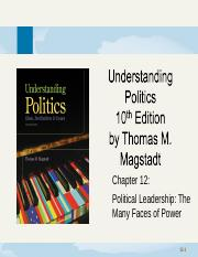 chapter12-PoliticalLeadership_TheManyFacesOfPower.ppt