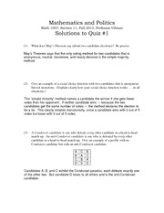 Solutions to quiz1