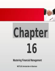 Chapter 16 Mastering Financial Management.pptx
