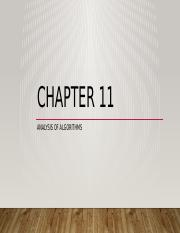 Chapter 11 - Analysis of Algorithms(3).pptx
