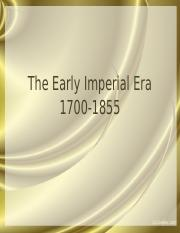 PP 4.5 The Early Imperial Era (abridged)
