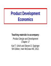 Product_Devel_Economics-Ch17.ppt