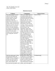 Quarter Two Personal Novel Dialectical Journal.docx