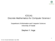 ics141-lecture13-Complexity