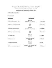 Mgmt 200 Assignment Soln 4-27-11