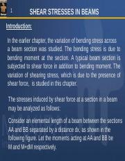 shear stresses in beams.ppt