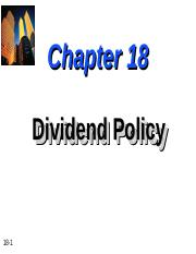 Chapter-18-Dividend-Policy.ppt