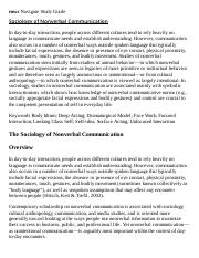Sociology of Nonverbal Communication Research Paper Starter - eNotes.pdf