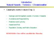 LECTURE_3_1-19-10_INTRO___PLATE_TECTONIC