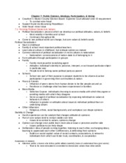 Political Science 1010-001_ Chapter 7 Notes