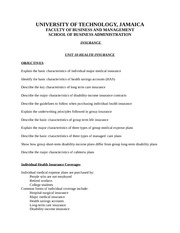 Unit_9_Health_Insurance_Students_Notes
