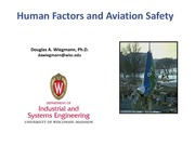 human factors and aviation safety lecture 2012