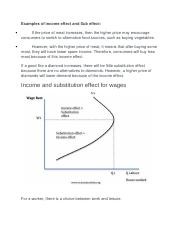 Examples of income effect and Sub effect,Price effect..docx