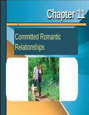 Chapter 11 - Committed Romantic Relationships.ppt