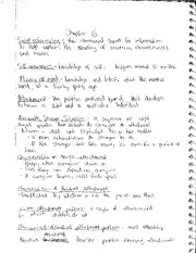Class Notes Key Term for Chapter 6