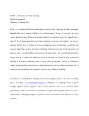 Principles of public speaking assignment 7.docx