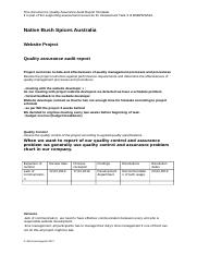 Quality Assurance Audit Report Template  finished(2).docx