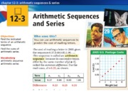 12_03_arithmetic sequences series.ppt