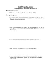 MGT4394 Class Preparation Questions