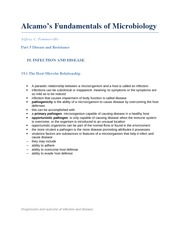Fundamentals of Microbiology chapter 19
