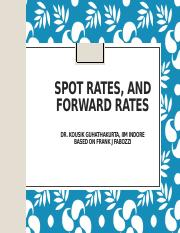 Bootstrapping Spot Rate &  Forward rate.pptx