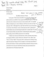 ENG 102 ESSAY SELECTION OF WORDS