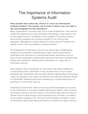 Importance of IT audit.docx