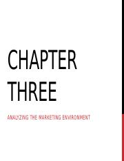 Lecture 3- marketing IB