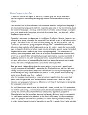 Extended essay body paragraphs