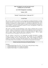 Week7 2014 Costing And Tactical Decisions CVP Student Questions