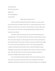 English 212 Final Paper