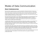 report Modes of Data Communication.docx