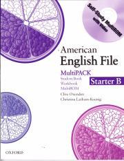 Starter multipack pdf english file american a