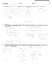 Calculus Quiz 7