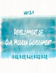 cf792fd856fe5bf1708f8e09a8a6c468_Daily_Presentation-_Unit_2-9_Development_of_Our_Modern_Government.p