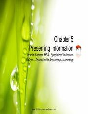 Chapter 5 Presenting Information.pdf