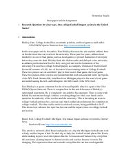 LIBR 101 Newspaper Article Assignment.docx