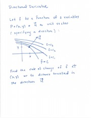 Directional Derivative