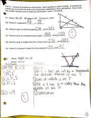 congruent angles proof notes